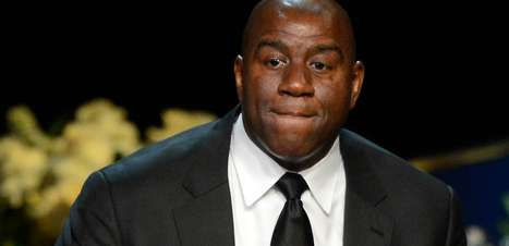 Magic Johnson topa ajudar Los Angeles a sediar time da NFL