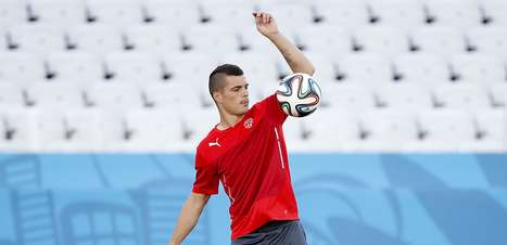 Suíça treina na Arena Corinthians para pegar a Argentina