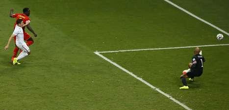 """Zaga dos EUA se rende a Lukaku: """"já tínhamos ralado a bunda"""""""