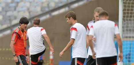Alemães treinam no Mineirão antes de enfrentar o Brasil