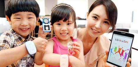 LG lança pulseira inteligente para crianças