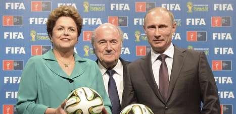 Dilma garante Copa limpa em meio a escândalos da Fifa
