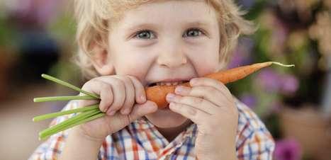 Criança come menos quando escuta que alimento é saudável