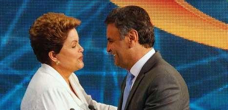 Dilma e Aécio lideram ranking mundial de citações no Twitter