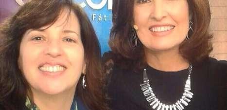 Fátima Bernardes usa look de R$ 19 mil em 'Encontro'