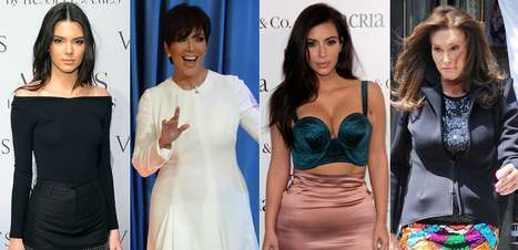 Qual você prefere? Compare looks de Caitlyn Jenner e família