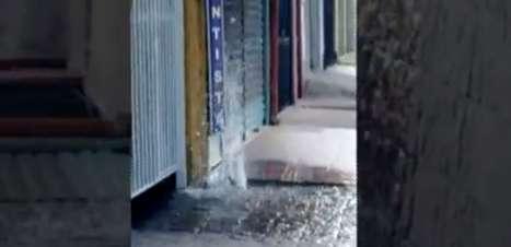 vc repórter: água jorra por horas de vazamentos em SP