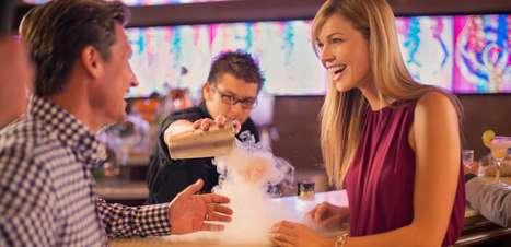 Robôs bartenders? Conheça bares curiosos em cruzeiros