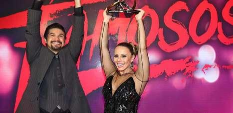 Após conquista, Viviane Araújo agradece apoio do noivo