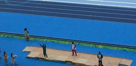 Mateus Evangelista é prata no salto em distância T37