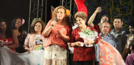 No Rio, Dilma relaciona processo contra Lula ao impeachment