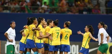 Seleção faz 6 a 0 na Bolívia em primeiro amistoso de 2017