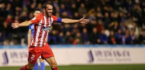 Diego Costa volta a jogar, faz em estreia e Atlético goleia