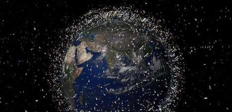 China quer usar lasers gigantes para eliminar lixo espacial