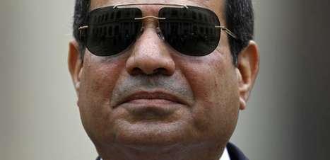 Presidente do Egito anuncia candidatura à reeleição