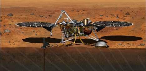 Nasa enviará robô a Marte para estudar formação de planetas