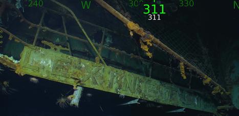 Porta-aviões perdido pelos EUA na 2ª Guerra é encontrado 76 anos depois na costa da Austrália