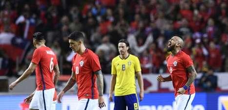 Na estreia de Rueda, Vidal faz golaço e Chile bate a Suécia