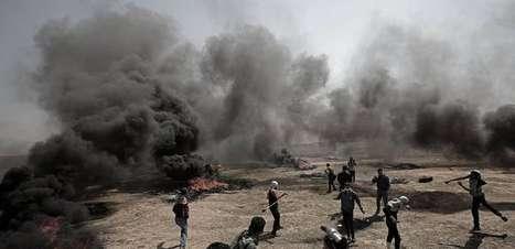 Aviões de Israel bombardeiam alvos do Hamas em Gaza