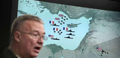 Ataques na Síria atingiram todos os alvos, diz Pentágono