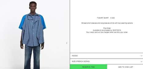 A nova camisa de R$ 4.600 da Balenciaga que gerou uma polêmica viral nas redes