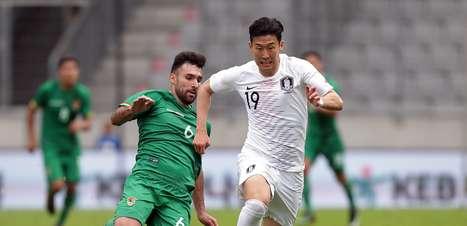 Coreia do Sul tropeça e fica somente no 0 a 0 com a Bolívia
