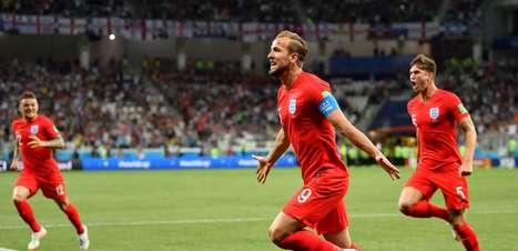 Confira as fotos de Tunísia x Inglaterra pela Copa do Mundo