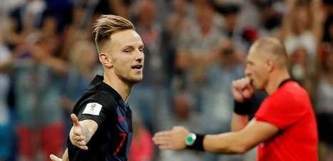 Com gols relâmpagos, Croácia vence Dinamarca nos pênaltis