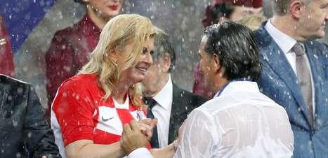 Presidente croata conquista admiradores após final da Copa