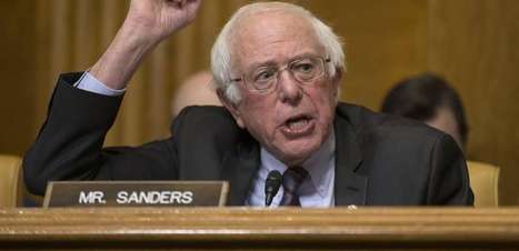 Senador dos EUA, Bernie Sanders assina carta em apoio a Lula