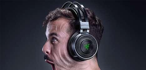 Headset Nari apresenta tecnologia háptica hipersensitiva