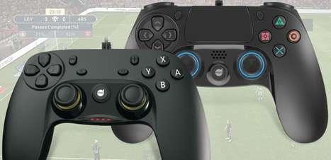 Novos controles para PS4 e Nintendo Switch estarão na BGS