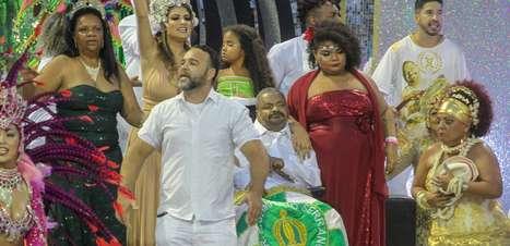 Filho de Arlindo Cruz elogia samba nota 10 da X-9 Paulistana