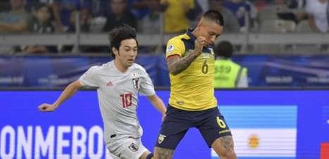 Equador e Japão empatam e são eliminados
