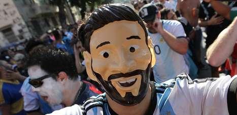 'Messimania' dá o tom do jogo Argentina x Venezuela