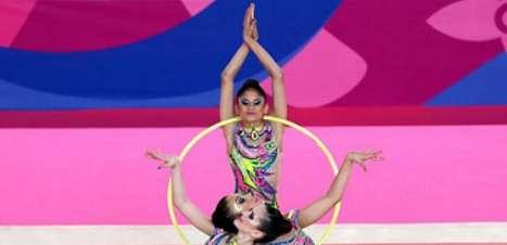 Brasil é ouro na ginástica em prova do conjunto de arcos e massas