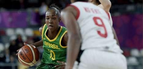 Basquete feminino: Seleção feminina vence o Canadá na estreia