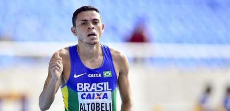 Altobeli é prata e fatura primeira medalha no atletismo