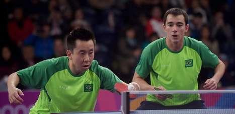 Tênis de mesa: Calderano e Gustavo Tsuboi conquistam o ouro