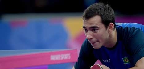 Hugo Calderano vence no tênis de mesa e é bicampeão no Pan