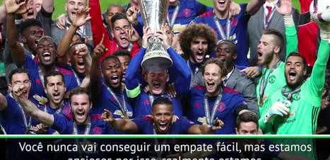 "Irwin: ""Man United quer ganhar a Liga Europa"""