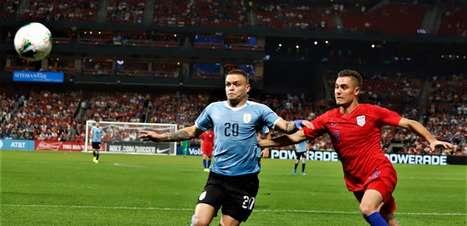 Estados Unidos e Uruguai ficam no empate em partida amistosa