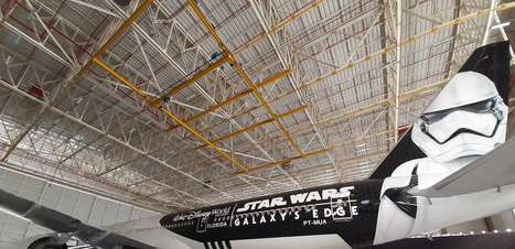 Avião do Star Wars é lançado no Brasil e voa esta noite