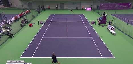 WTA Tianjin: Peterson vence Watson e é campeã na China (6-4, 6-4)