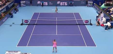 WTA Moscou: Kudermetova vence Svitolina (6-2, 1-6, 7-5)