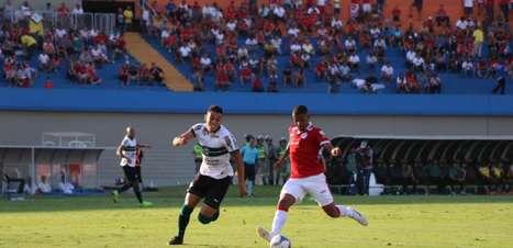 Coritiba arranca empate do Vila Nova no fim e permanece no G4 da Série B