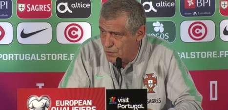 """PORTUGAL: Fernando Santos avisa: """"CR7 foi convocado, está bem e vai jogar"""""""