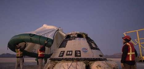 Após falhar em missão, cápsula Starliner volta para Terra
