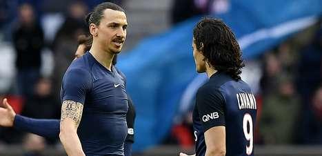 Cavani, Ibrahimovic e os maiores artilheiros da Ligue 1 nesta década