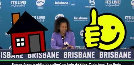 WTA: Que perrengue! Osaka conta como 'quase' morreu nas férias